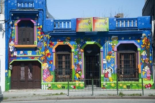 jardin d'enfants, Montevideo