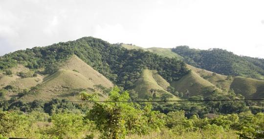 Route vers Comayagua