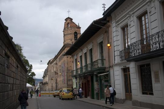 Bogotà c'est ça ...
