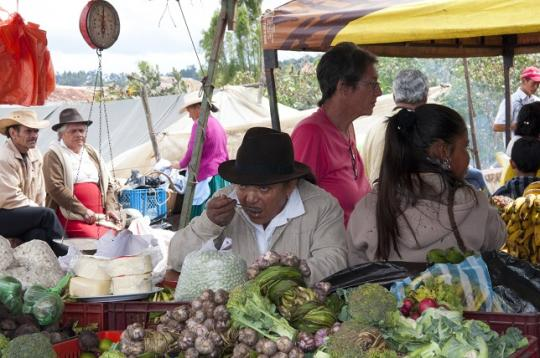 marché de Villa de Leyva