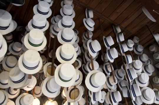 _le Cuenca, chapeau typique de cette région