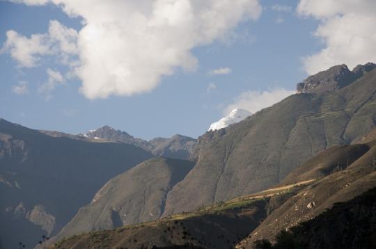 _mont enneigé du Canyon del Pato