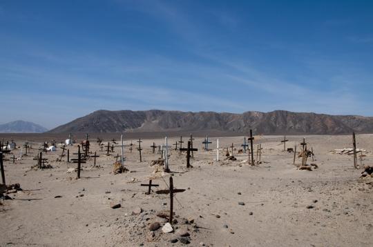 _Chauchilla le cimetière du village ...