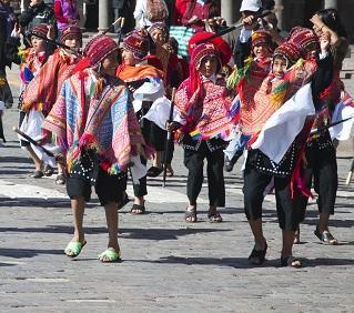 Fête du solstice d'hiver à Cusco
