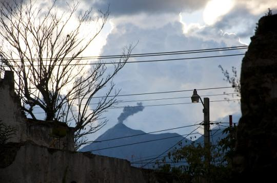 le volcan Fuego