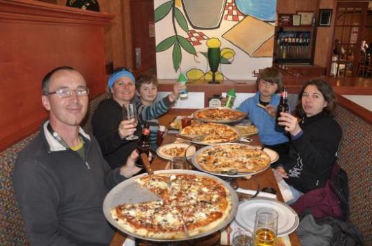 pizza delight à Sussex