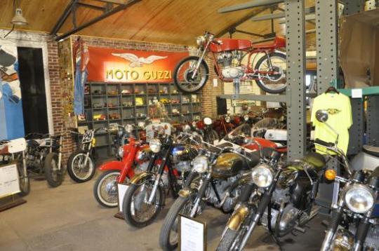 Seaba Station, musée de la moto